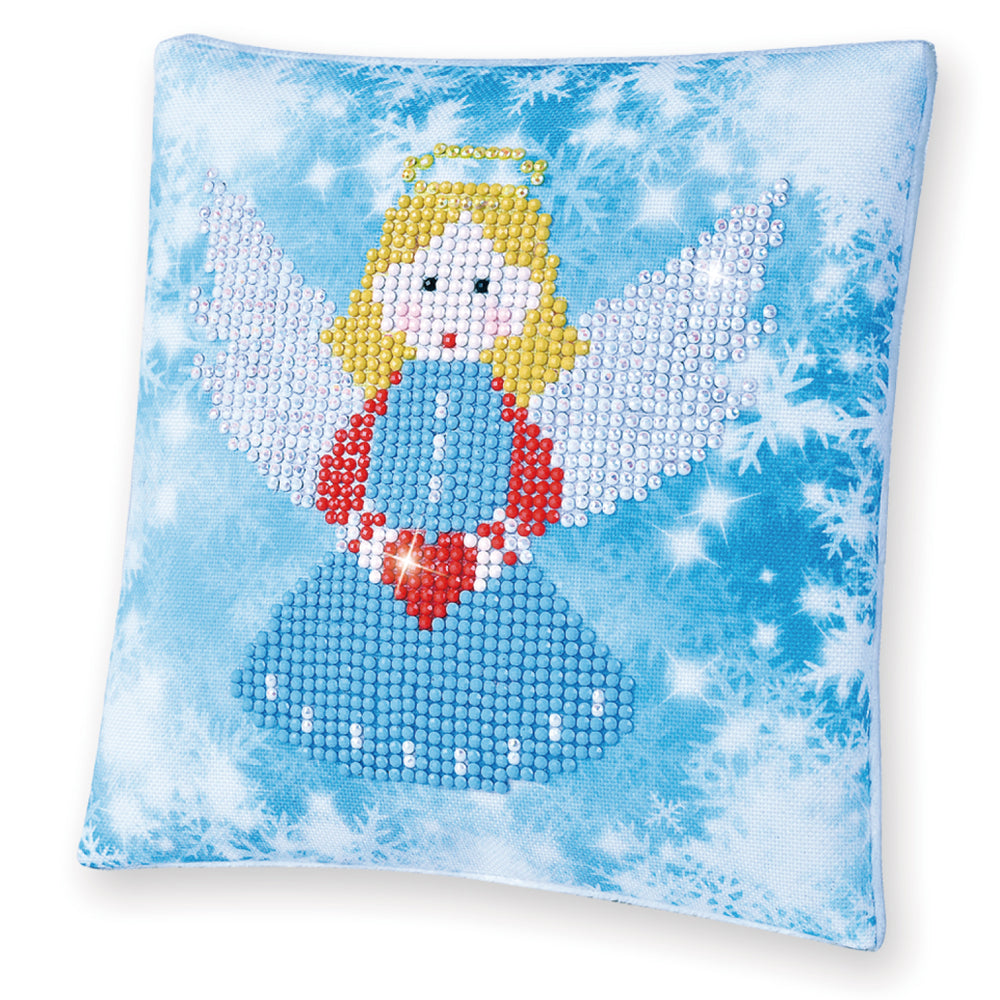 Diamond Dotz Christmas Angel Pillow