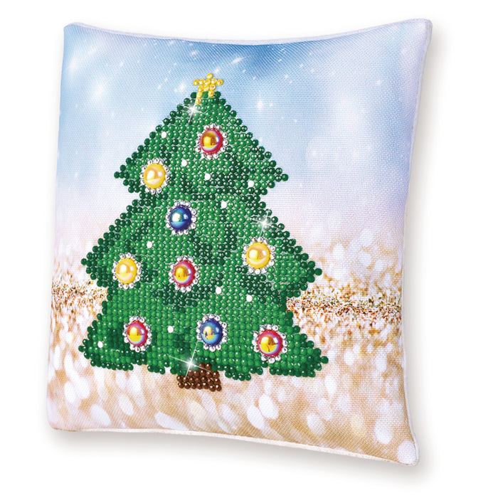 Diamond Dotz Christmas Tree Pillow