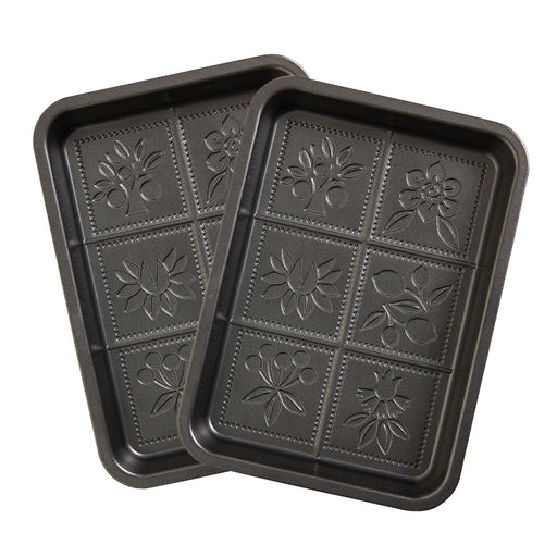 Floral Decorative Pans - 2 pack!