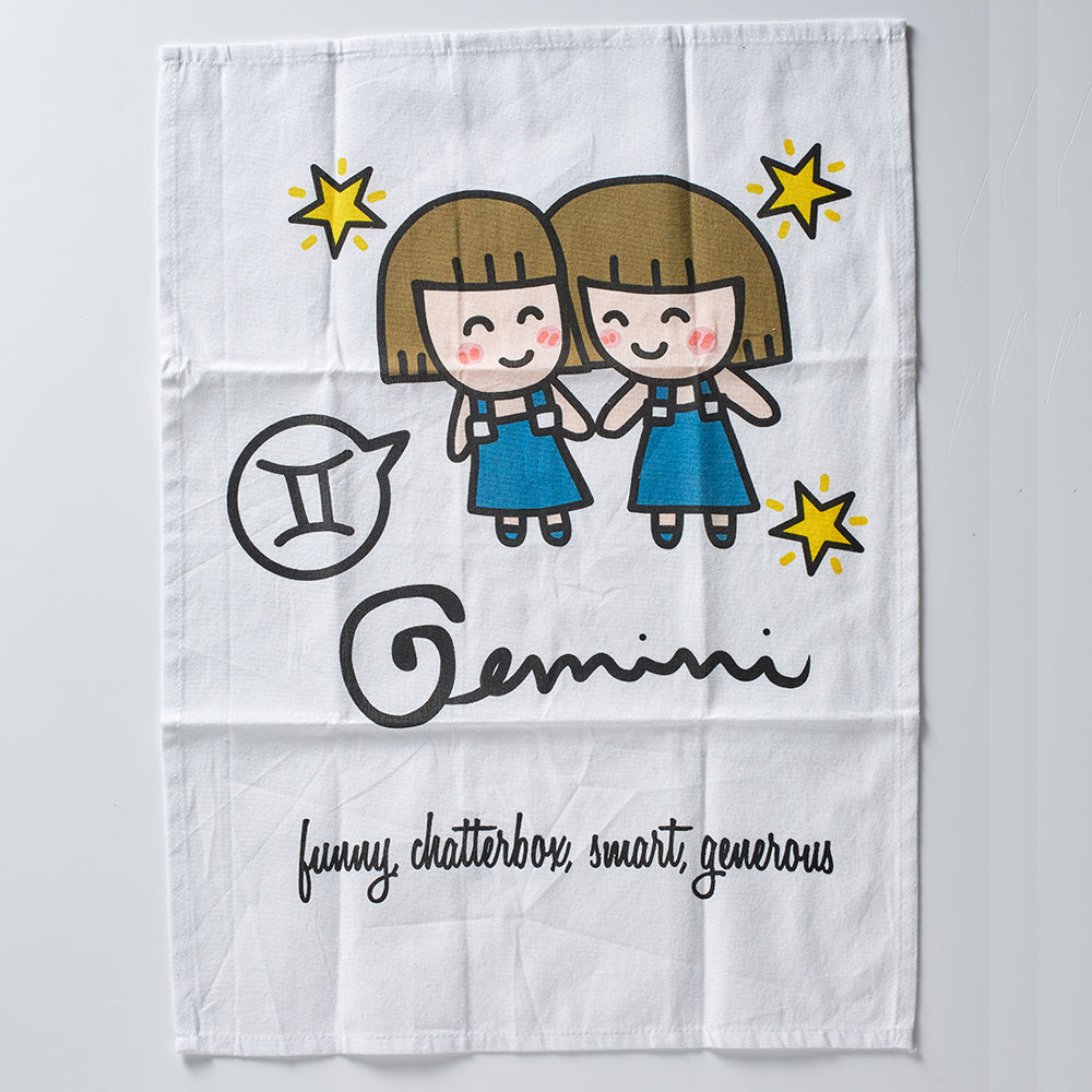 Gemini Tea Towel