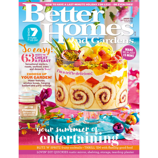 Better Homes and Gardens - January 2019