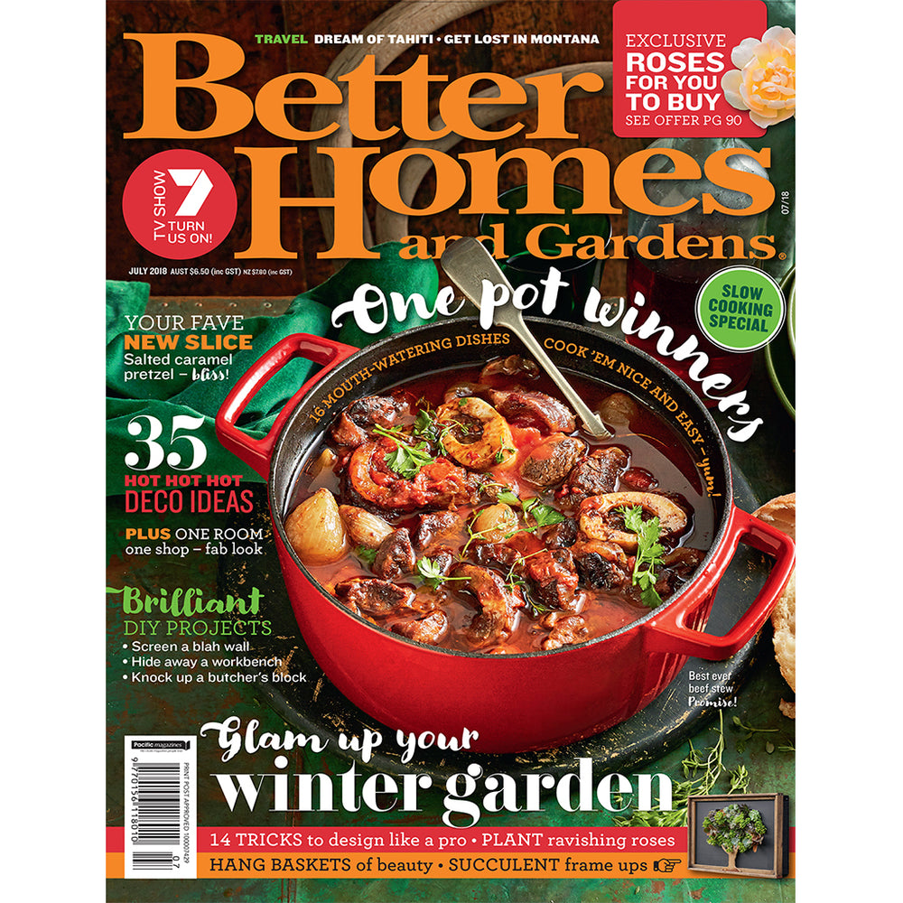 Better Homes and Gardens - July 2018