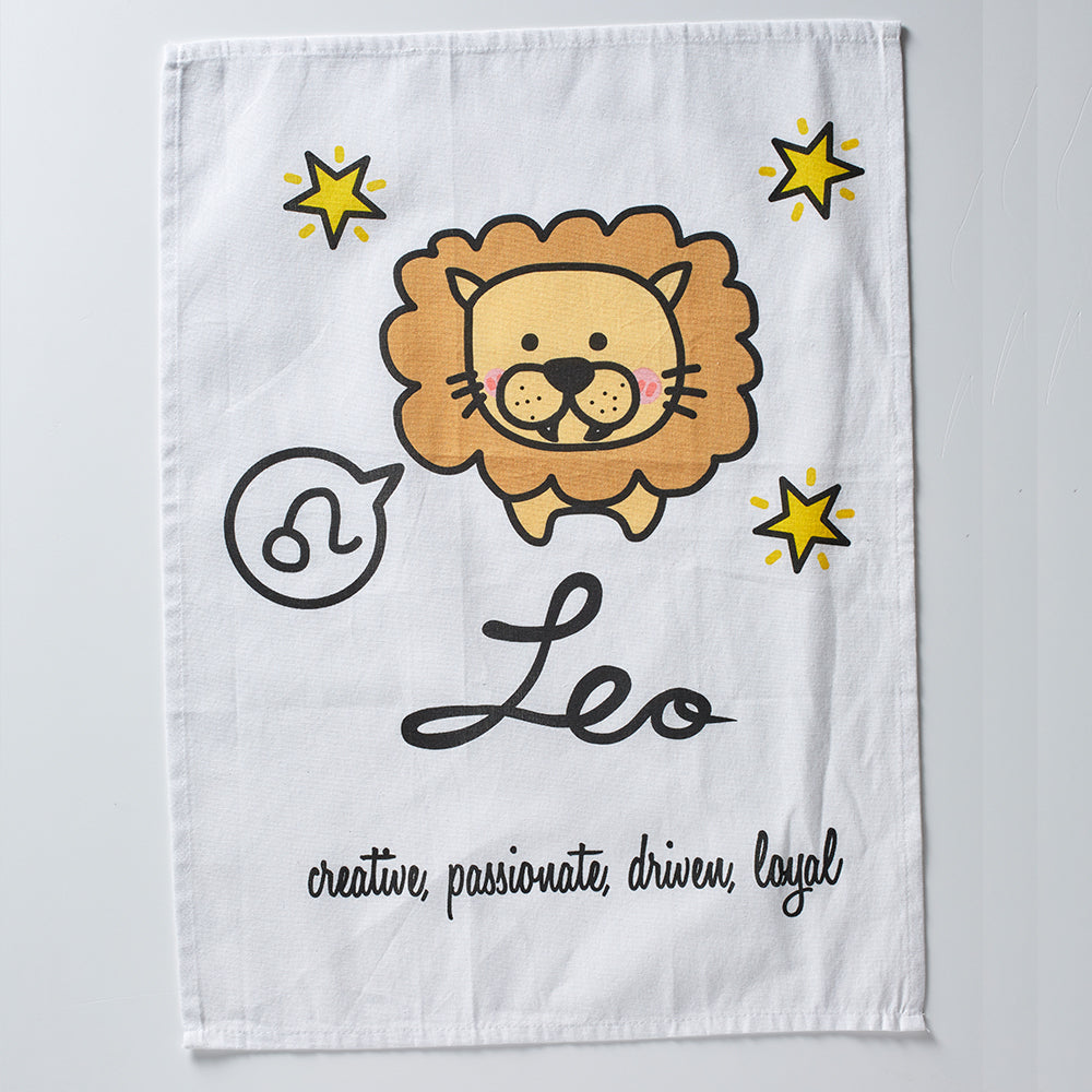 Leo Tea Towel