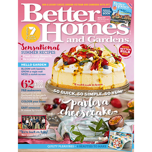 Better Homes and Gardens - March 2018