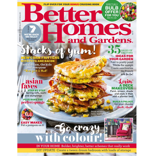 Better Homes and Gardens- March 2019