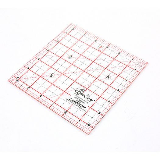 Ruler Square Rule 6.5in x 6.5in