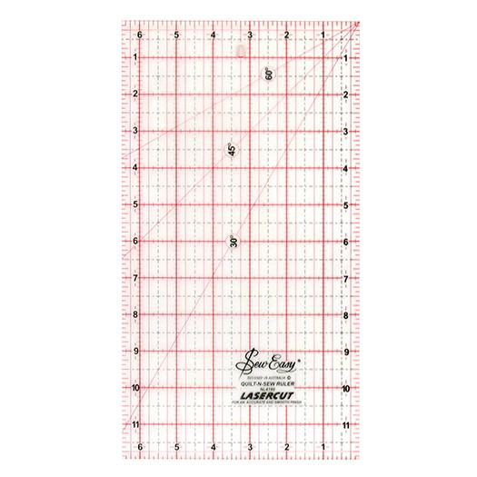 Ruler Quilters 12in x 6.5in