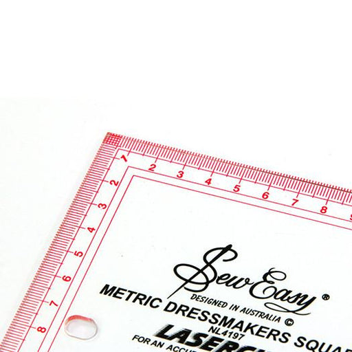Ruler Dressmakers Square 365 x 605mm