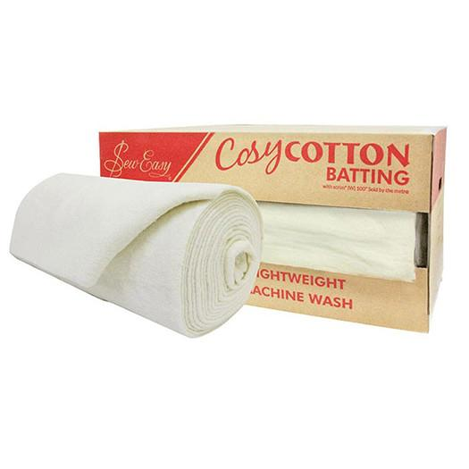 Batting Cosy Cotton Natural N/P