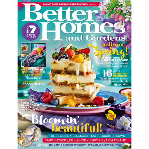 Better Homes and Gardens - October 2018