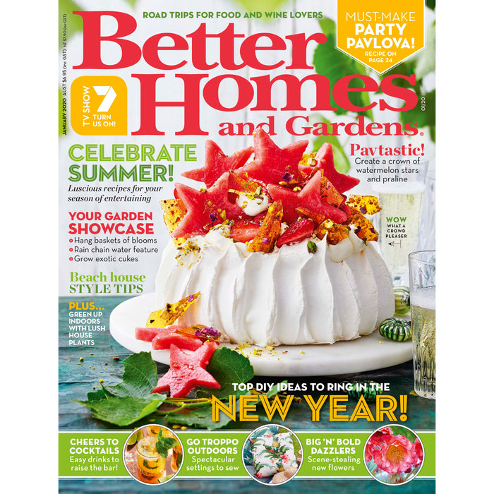 Better Homes and Gardens - January 2020