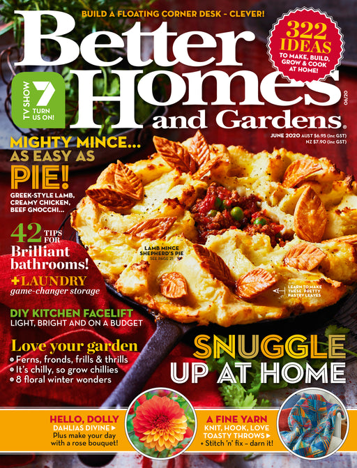Better Homes and Gardens - June 2020