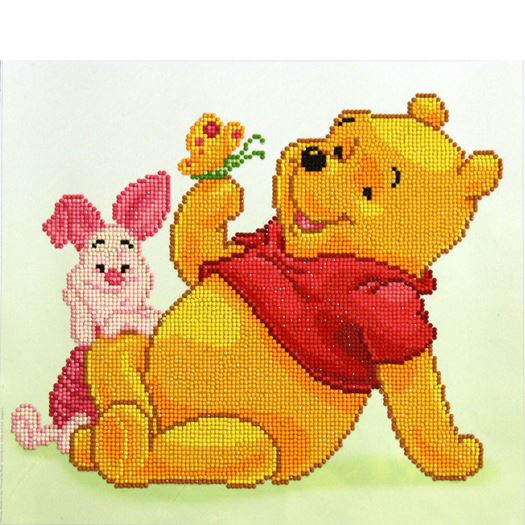 Diamond Dotz Disney Pooh with Piglet