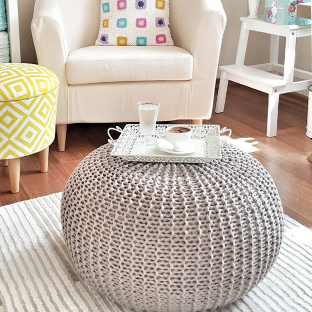 DIY Pouf Knitting Kit