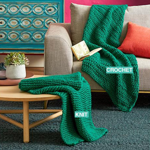 Mighty Easy Chunky Knit Kit - Emerald