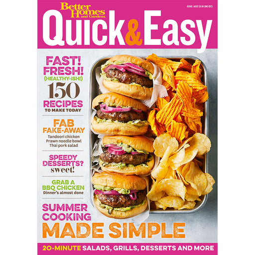 Better Homes and Gardens - Quick & Easy