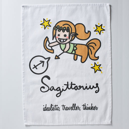 Sagittarius Tea Towel