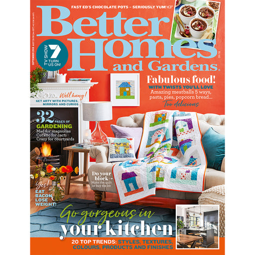 Better Homes and Gardens - September 2018