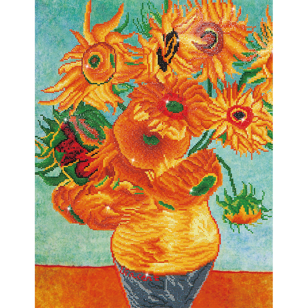 Diamond Dotz Sunflowers (Van Gogh)