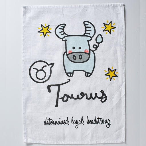Taurus Tea Towel