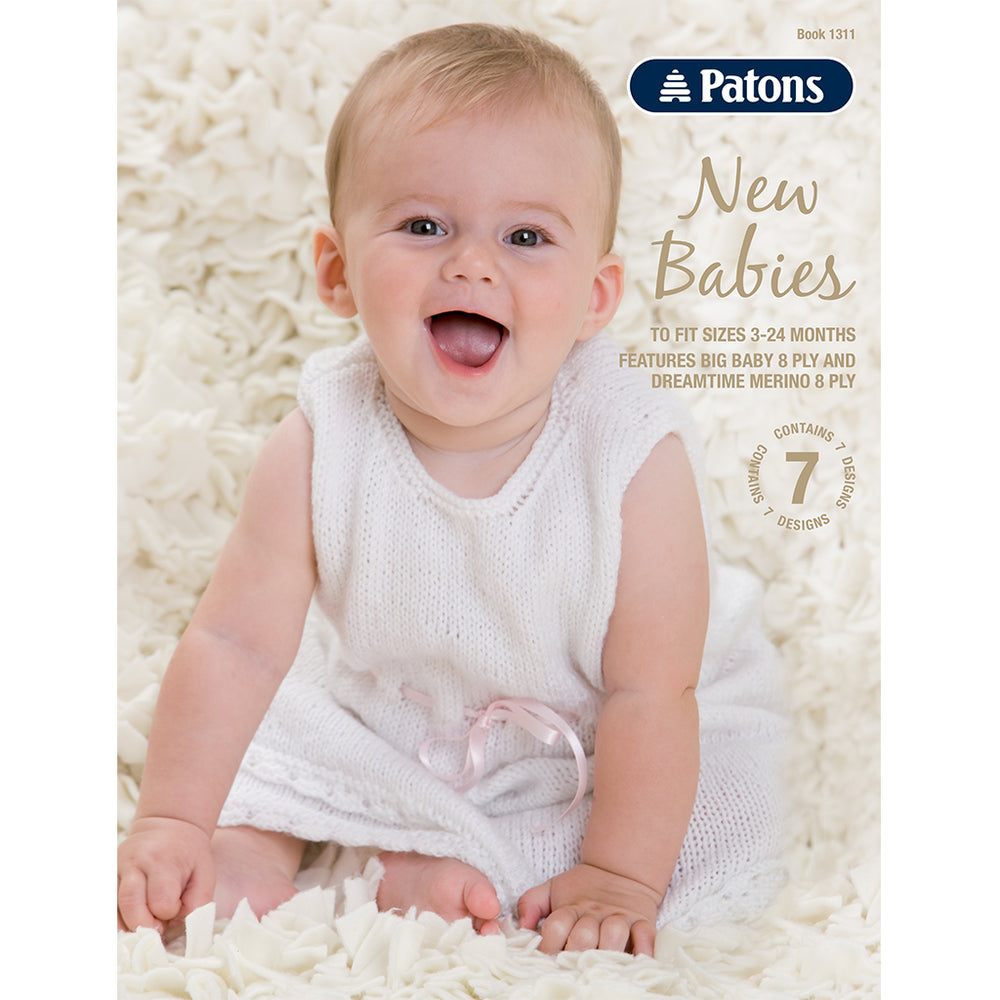 Patons Book - New Babies