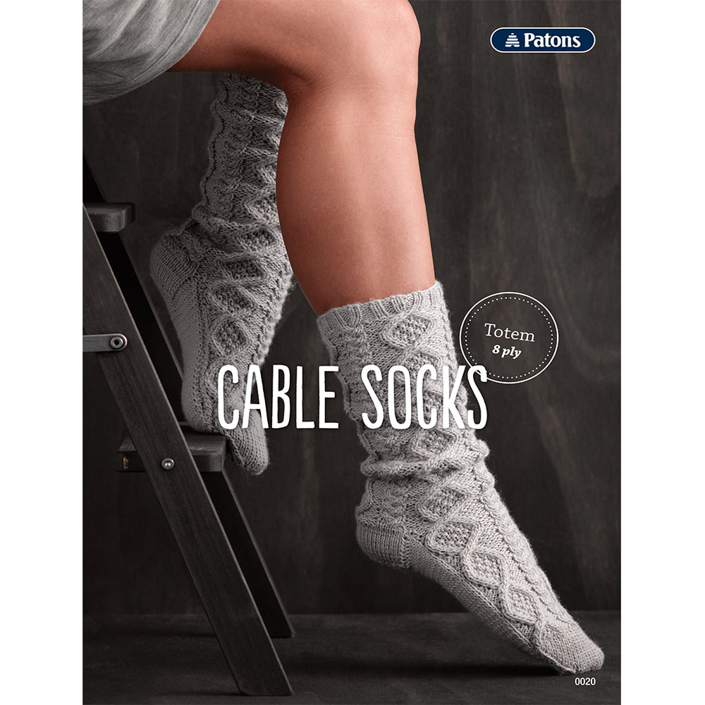 Patons Cable Socks