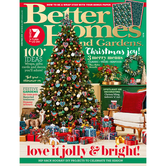 Better Homes and Gardens - Christmas 2018