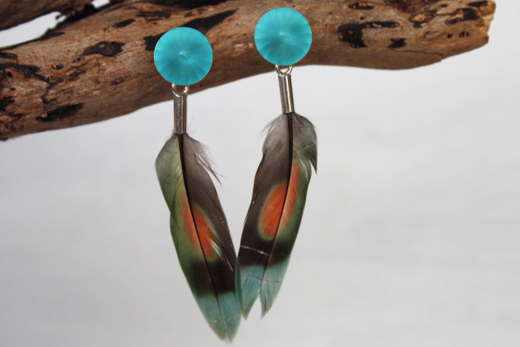 lovebirds light turquoise matt no3