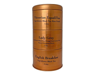 Breakfast Blends - Stacked Tin (3 Teas)