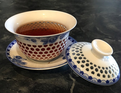 Hexagonal Rice Gaiwan