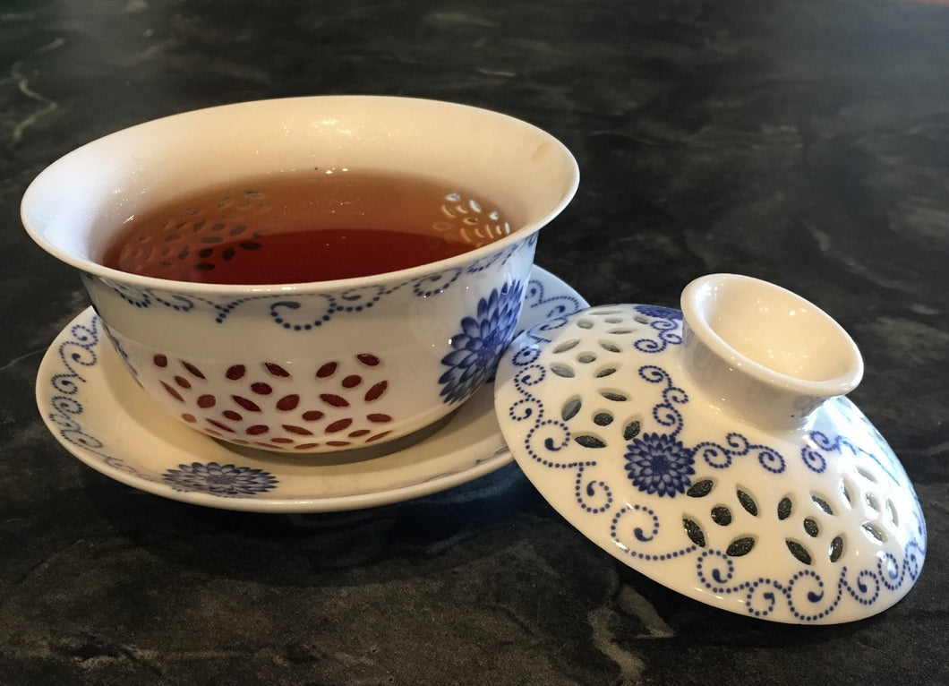 Rice Grain Gaiwan Tea Cups