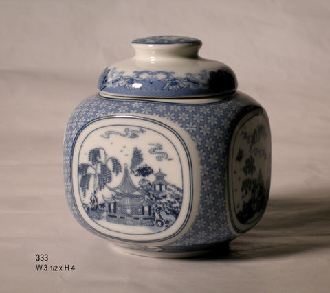 China Blue Canister