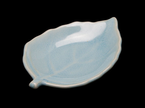 Blue Leaf Dish for Your Tea Tray