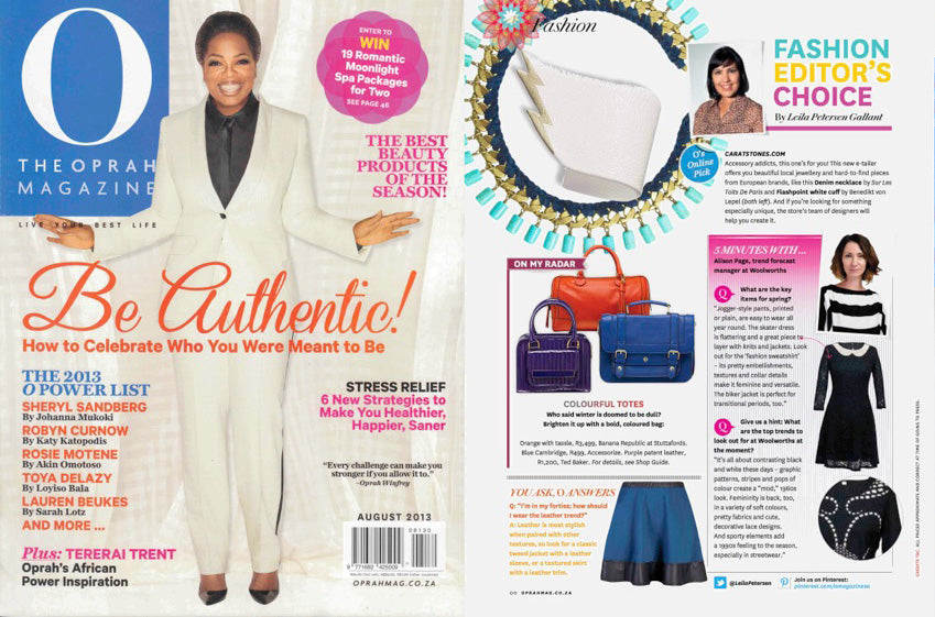 Oprah-magazine-South Africa-August2013