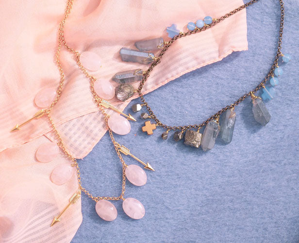 Meridien & Diane necklaces