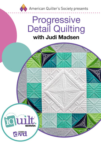 Progressive Detail Quilting DVD