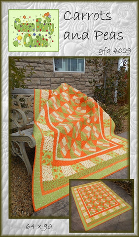 GFQ Carrots and Peas Pattern ***PDF***