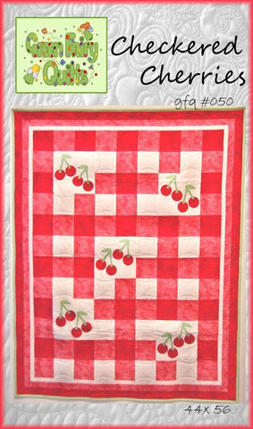 GFQ Checkered Cherries Pattern ***PDF***
