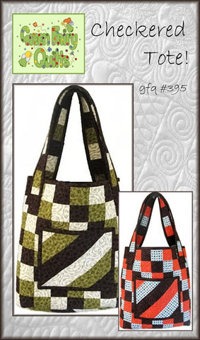 GFQ Checkered Tote Pattern ***PDF***