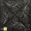 JMGF0021 FEATHER SWIRL BLK1