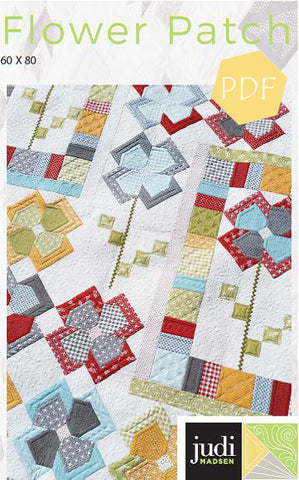 Flower Patch Quilt Pattern ***PDF***