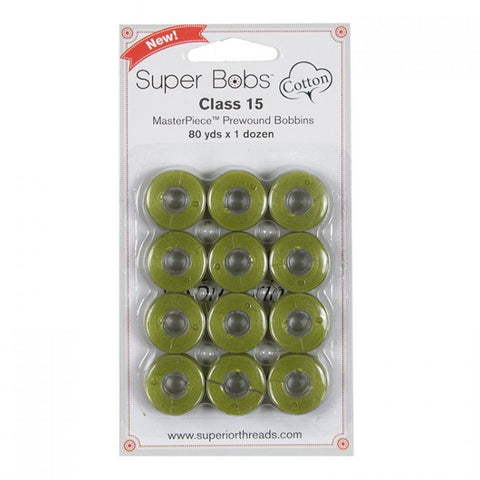 Superior SuperBobs Cotton Bobbins - #164 Donatello (Class 15)