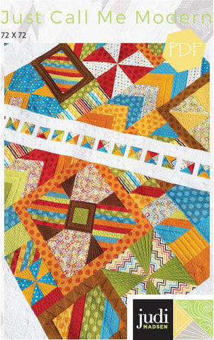 Just Call Me Modern Quilt Pattern ***PDF***