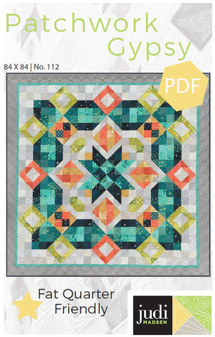 Patchwork Gypsy Pattern ***PDF***