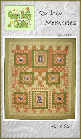 GFQ Quilted Memories Quilt Pattern ***PDF***