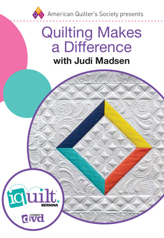 Quilting Makes a Difference DVD