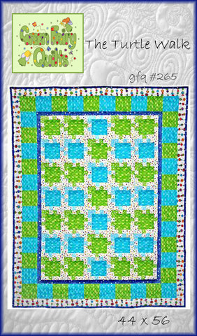GFQ The Turtle Walk Quilt Pattern ***PDF***
