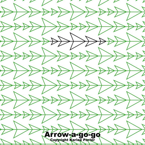 Arrow-a-go-go by Karlee Porter