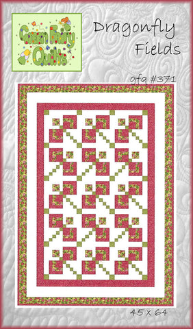 GFQ Dragonfly Fields Pattern ***PDF***