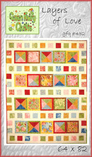 GFQ Layers of Love Quilt Pattern ***PDF***